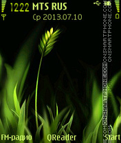 Grasses theme screenshot