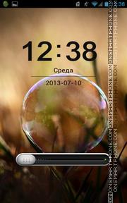 Скриншот темы World Bubble