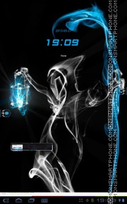 Smoke Ghost theme screenshot