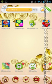 Rose 10 tema screenshot