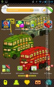Скриншот темы Bus 01