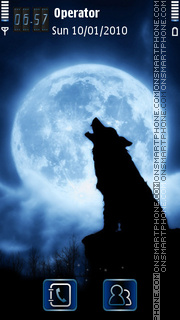 Скриншот темы Lone Wolf