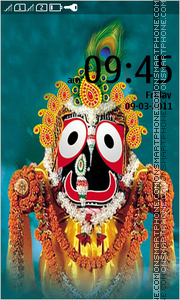 Lord Jagannath theme screenshot
