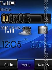 Xperia arc live theme screenshot