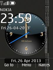 Скриншот темы SPB Time