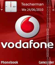 Vodafone Logo theme screenshot
