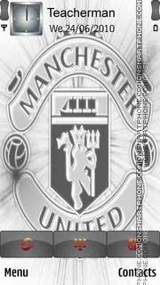 Manchester Unitd theme screenshot