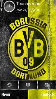 Borussia Dortmund theme screenshot