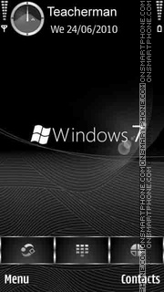 Windows 7 Elegant black theme screenshot