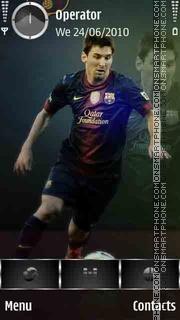 Messi Wembley 2013 theme screenshot