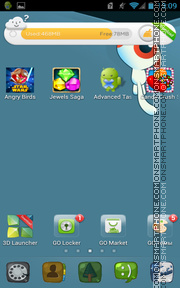 Caricature Theme theme screenshot