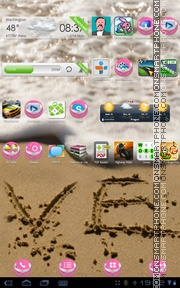 Couple Girl tema screenshot