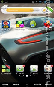 Скриншот темы Aston Martin One
