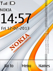 Nokia Emblem theme screenshot
