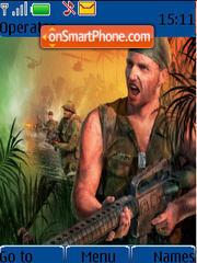 Conflict Vietnam theme screenshot