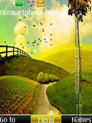 Скриншот темы Beautiful Landscape Photos