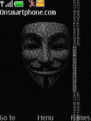 Anonymous 01 Theme-Screenshot
