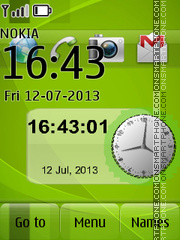 Go Green 02 theme screenshot