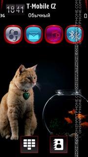 Fish & Cat HD v5 es el tema de pantalla