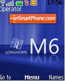 Longhorn theme screenshot