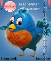 Twitter-Bird theme screenshot