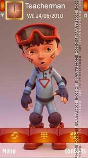Скриншот темы Boy Rider