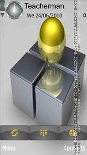 Silver Cubes es el tema de pantalla