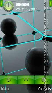Black Balls theme screenshot