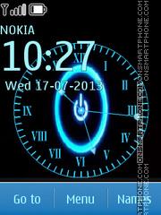 Скриншот темы Rinzler Clock