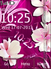 Pink Tenderness theme screenshot