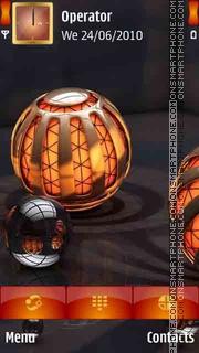Light 3D View theme screenshot