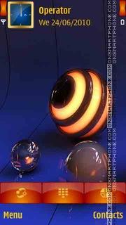 Скриншот темы 3D Light - View