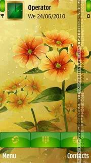 Spring Flower es el tema de pantalla