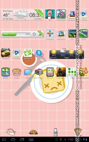 Food Toast theme screenshot