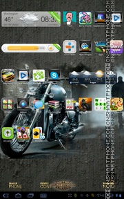 Easy Rider 01 theme screenshot