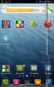 HD Design theme screenshot
