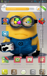 Despicable Me 01 theme screenshot