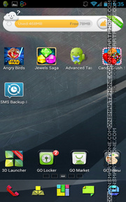 Graphics Art 02 tema screenshot