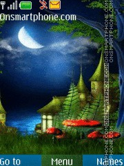 Natural 3D theme screenshot