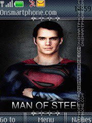 Man Of Steel 01 theme screenshot