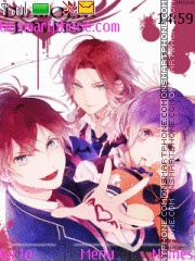Diabolik Lovers tema screenshot