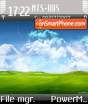 Vista Style theme screenshot
