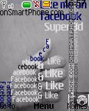 Facebook like theme screenshot
