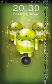 Droid 01 theme screenshot