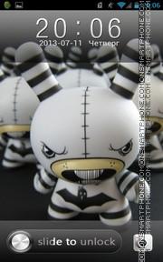 Angry Toys theme screenshot