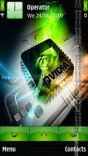 Nvidia Technology theme screenshot
