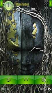 Wooden Head es el tema de pantalla