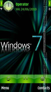 Neon 7 Windows es el tema de pantalla