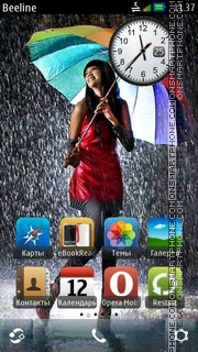 Rain Theme-Screenshot