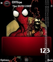 Spider tema screenshot